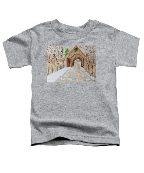 Covered Bridge Toddler T-Shirt