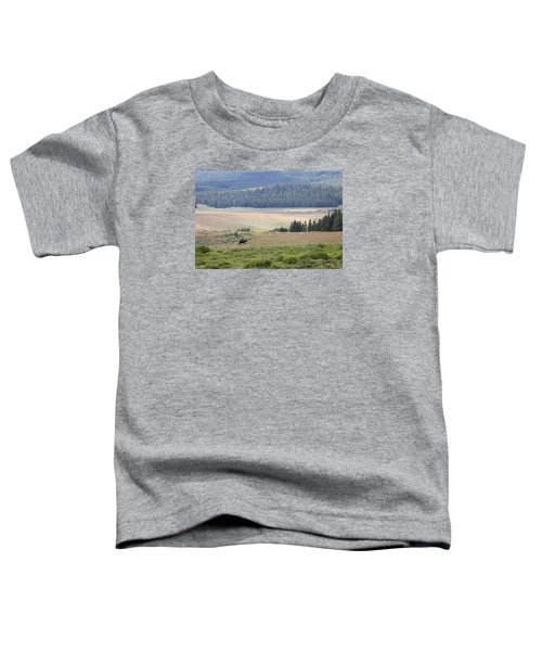 Cow Camp View Toddler T-Shirt
