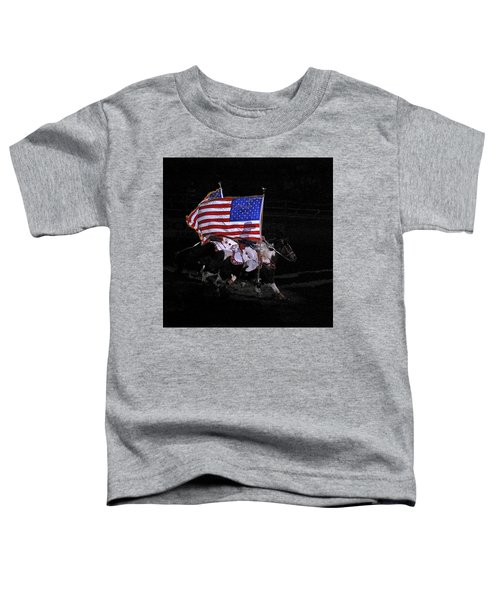 Cowboy Patriots Toddler T-Shirt