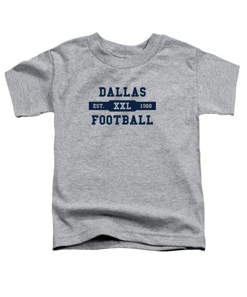 Cowboys Retro Shirt Toddler T-Shirt by Joe Hamilton