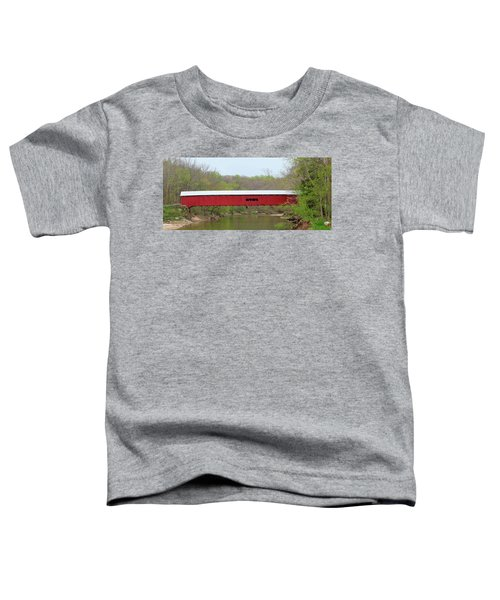 Cox Ford Covered Bridge - Sideview Toddler T-Shirt