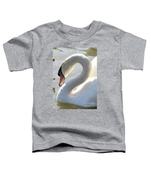 Coy Swan Toddler T-Shirt
