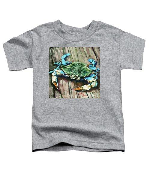 Crabby Blue Toddler T-Shirt