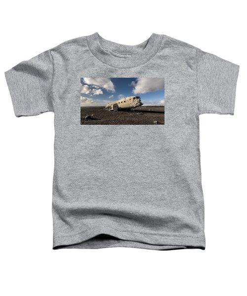 Crashed Dc-3 Toddler T-Shirt