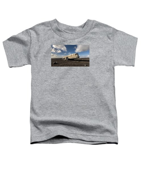 Crashed Dc-3 Toddler T-Shirt