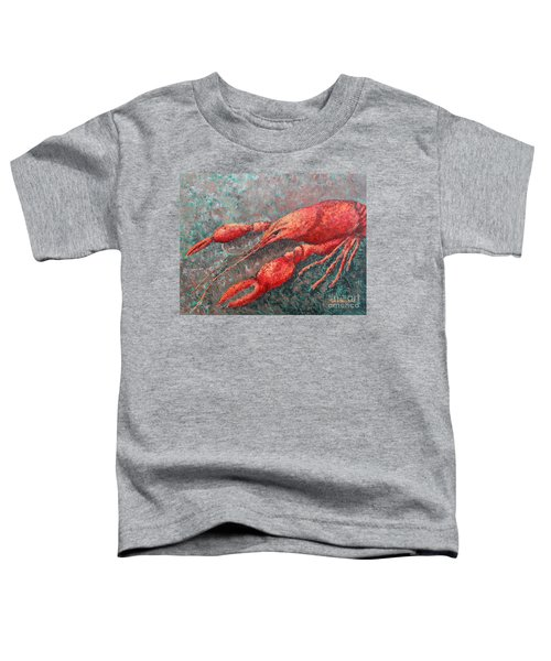 Crawfish Toddler T-Shirt