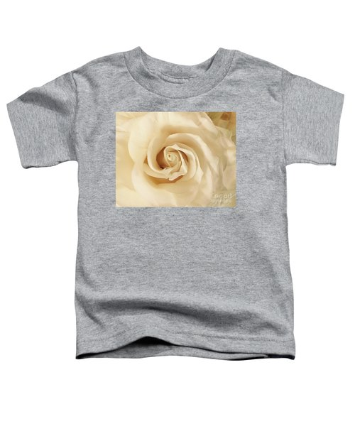 Creamy Rose Toddler T-Shirt