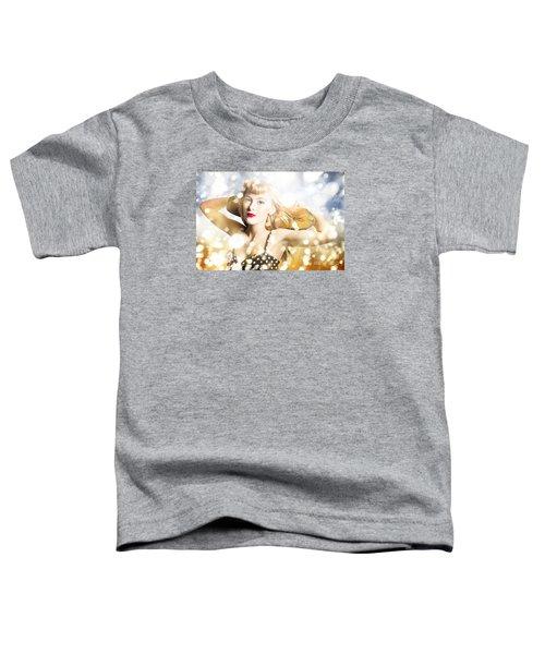 Creative Skateboarding Pin Up Toddler T-Shirt
