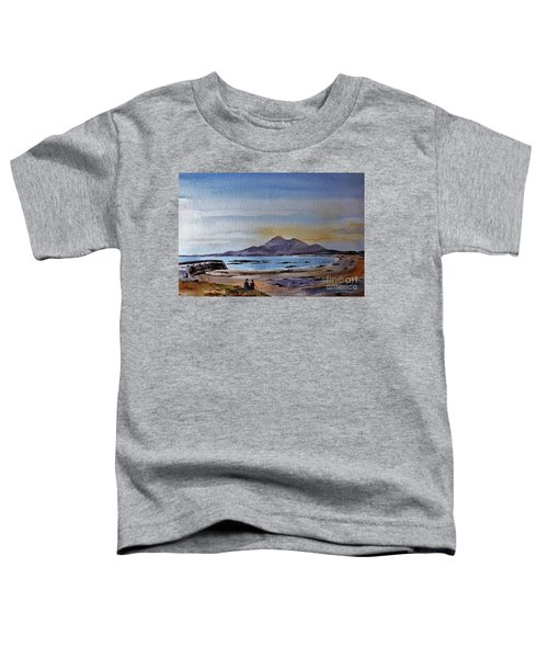 F801  Croagh Patrick From Old Head, Mayo Toddler T-Shirt