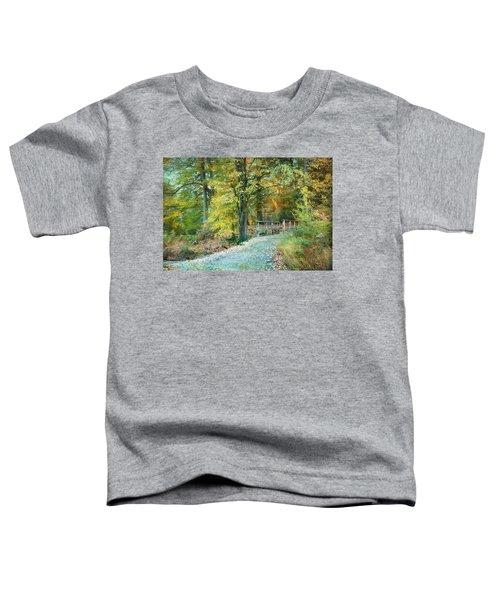 Cross Over The Wooden Bridge Toddler T-Shirt