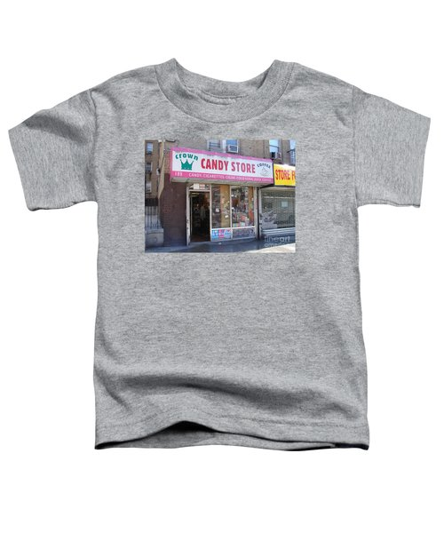 Crown Candy Store  Toddler T-Shirt by Cole Thompson