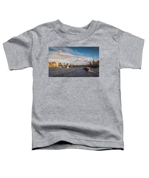Cruise On The Thames Toddler T-Shirt