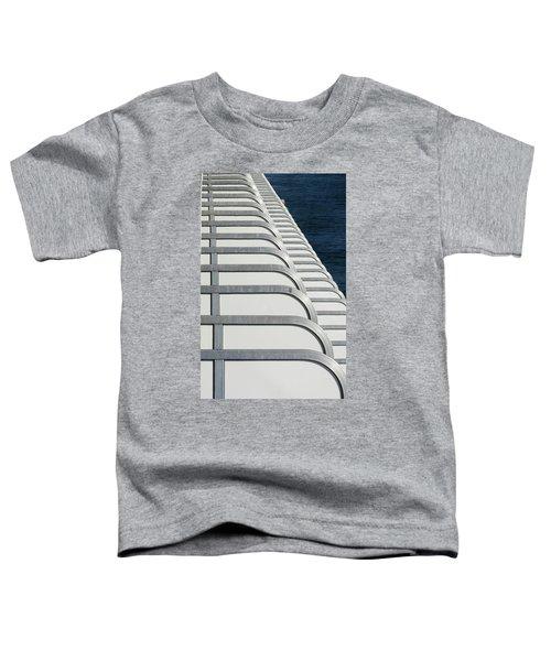 Cruise Ship's Balconies Toddler T-Shirt