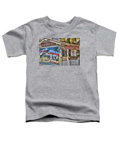 Cuban Coffee Queen Toddler T-Shirt