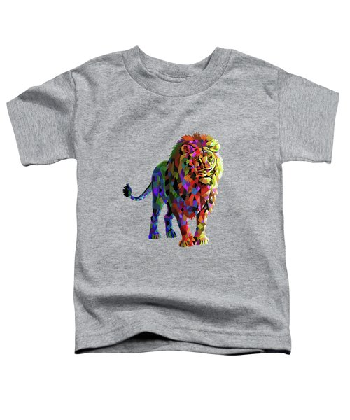 Geometrical Lion King Toddler T-Shirt