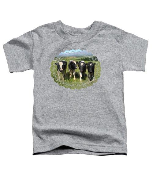 Curious Cows Toddler T-Shirt