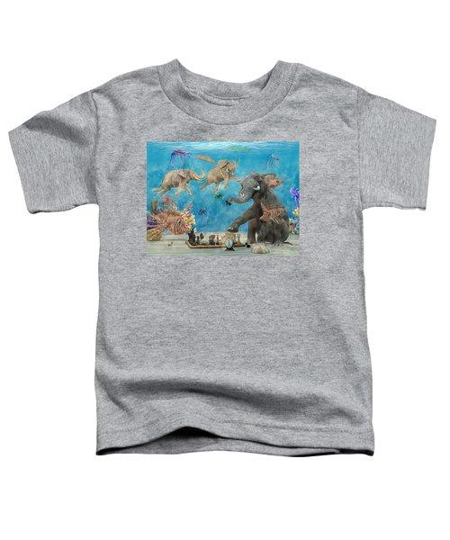 Curious Ocean Toddler T-Shirt