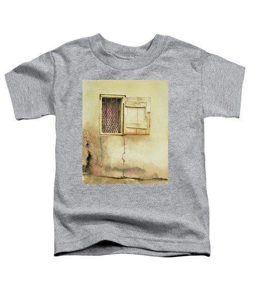 Curtain In Window Toddler T-Shirt