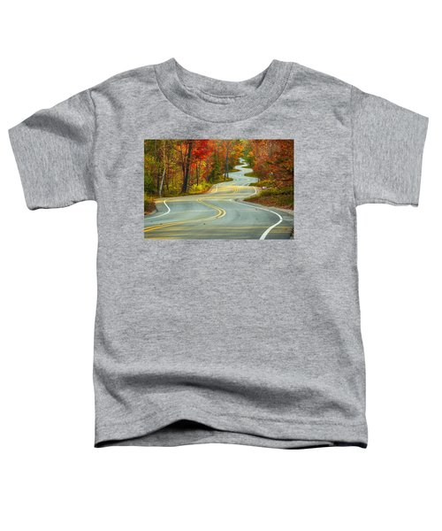 Curvaceous Toddler T-Shirt by Bill Pevlor