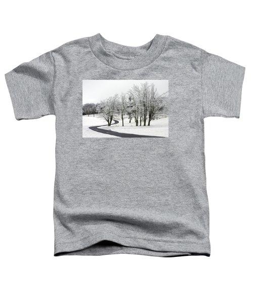 Mac Rae Field Curved Path Toddler T-Shirt