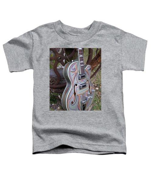 Custom Painted Giutar Toddler T-Shirt