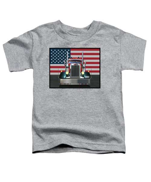 Custom Peterbilt 2 Toddler T-Shirt