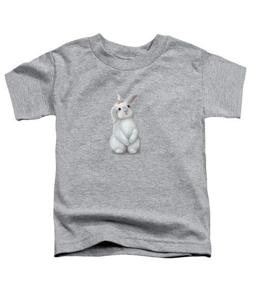 Cute Bunny Girl Toddler T-Shirt