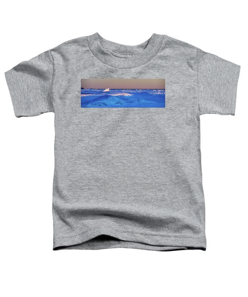 Toddler T-Shirt featuring the photograph Cutting Edge by Doug Gibbons