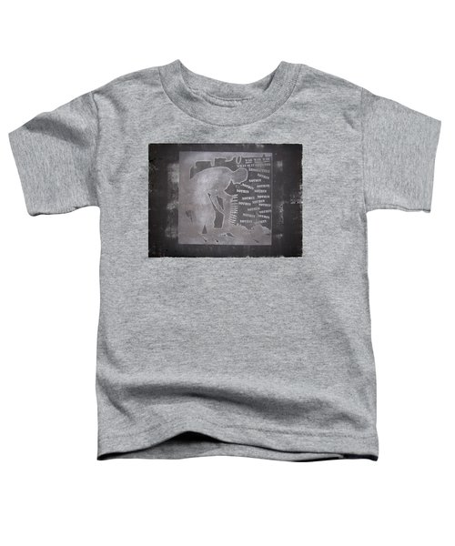 D U Rounds Project, Print 33 Toddler T-Shirt