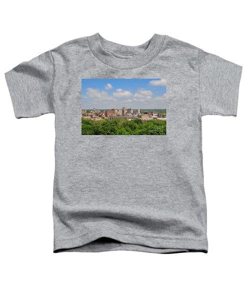 D39u118 Youngstown, Ohio Skyline Photo Toddler T-Shirt