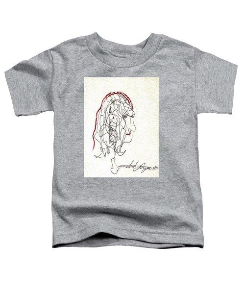 Da Vinci Drawing Toddler T-Shirt