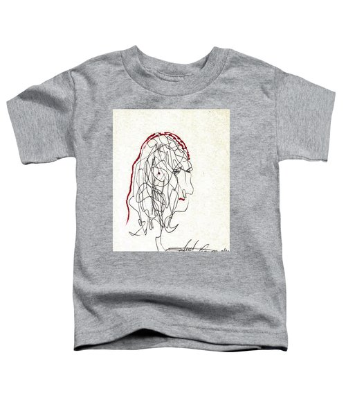 Da Vinci Drawing Toddler T-Shirt