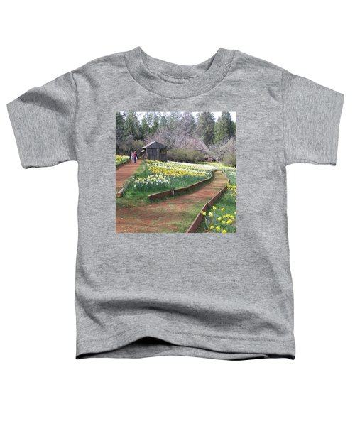 Daffodil Hill Pathway Toddler T-Shirt