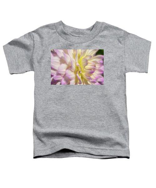 Dahlia Study 5 Painterly  Toddler T-Shirt