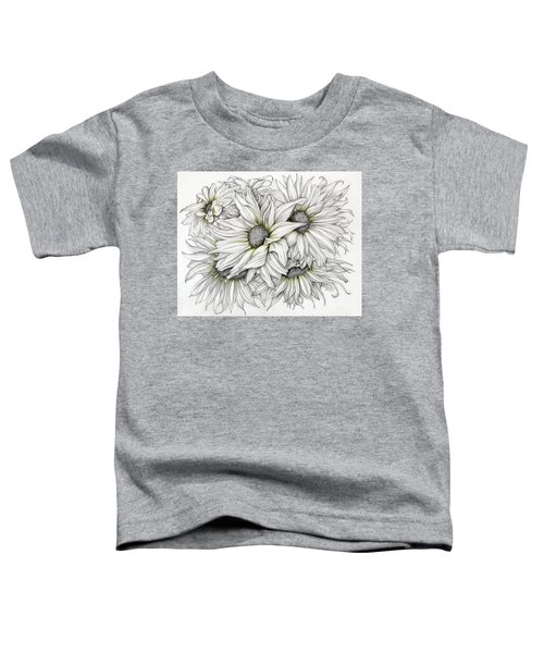 Sunflowers Pencil Toddler T-Shirt