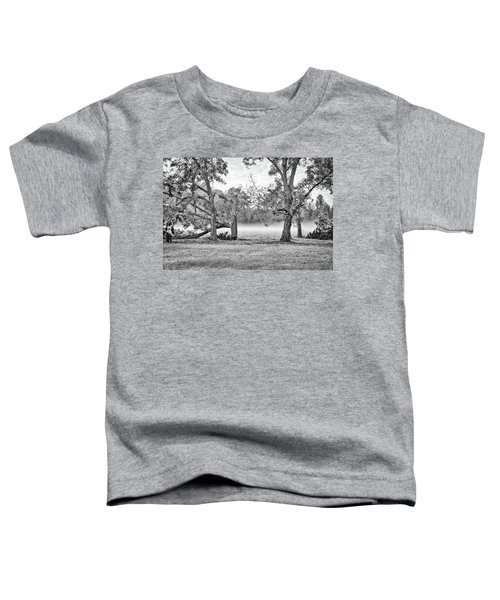 Dale - Foggy Morning Toddler T-Shirt
