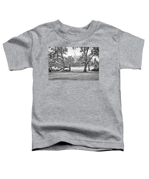 Dale - Foggy Morning Toddler T-Shirt