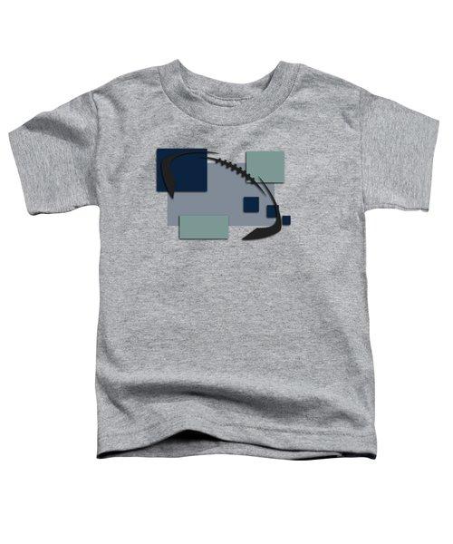 Dallas Cowboys Abstract Shirt Toddler T-Shirt by Joe Hamilton