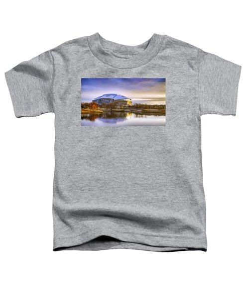 Dallas Cowboys Stadium Arlington Texas Toddler T-Shirt