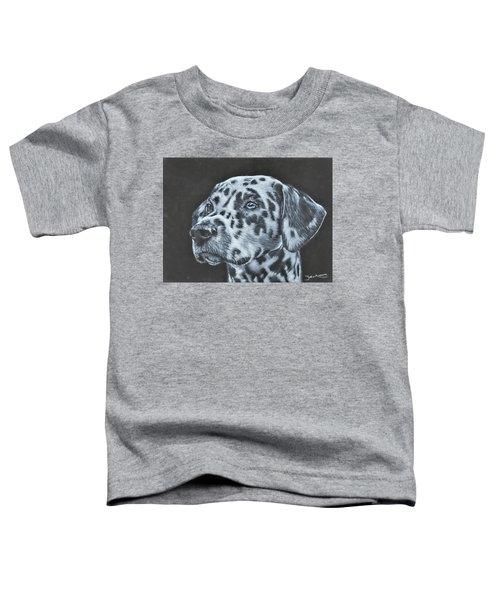 Dalmation Portrait Toddler T-Shirt