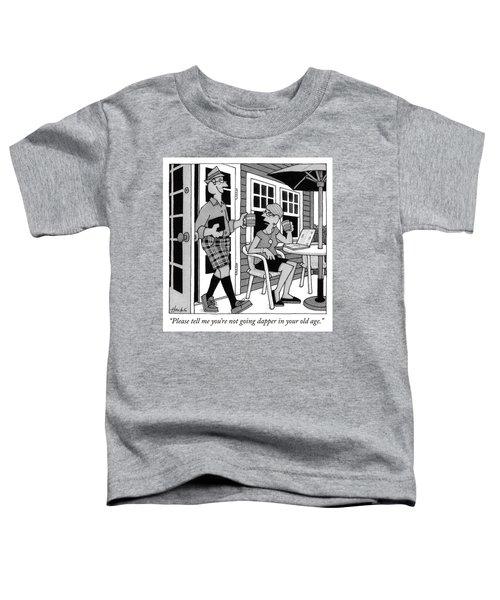 Dapper Toddler T-Shirt