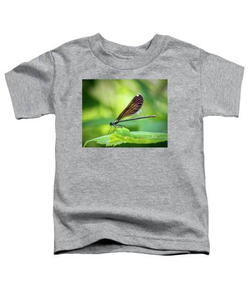 Toddler T-Shirt featuring the photograph Dark Damsel by Bill Pevlor