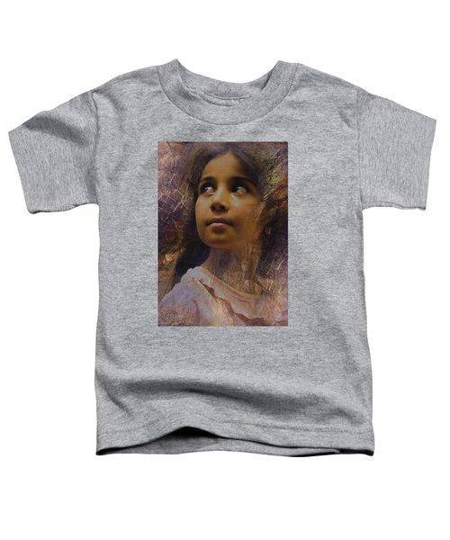 Dark Eyed Beauty Toddler T-Shirt