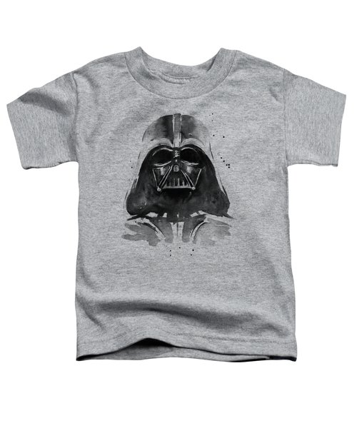 Darth Vader Watercolor Toddler T-Shirt