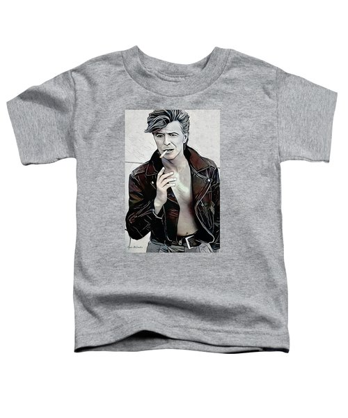 David Bowie Toddler T-Shirt