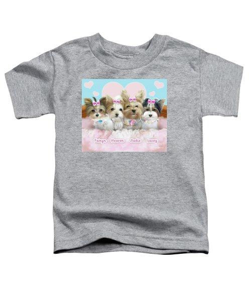 Davidson's Furbabies Toddler T-Shirt