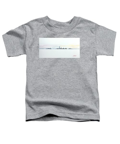 Dawn New York City Toddler T-Shirt