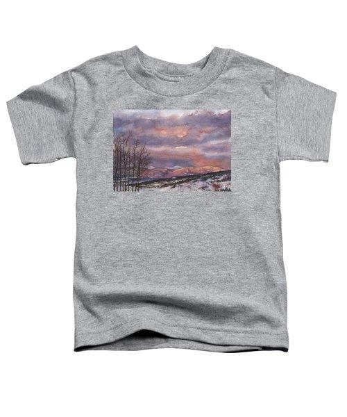 Daylight's Last Blush Toddler T-Shirt