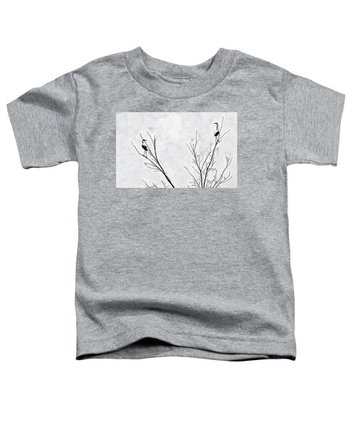 Dead Creek Cranes Toddler T-Shirt