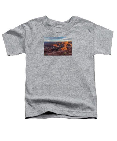 Dead Horse Point Sunrise Toddler T-Shirt